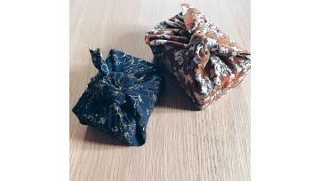 Emballage cadeau zéro déchet : le furoshiki